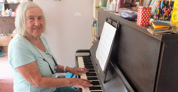 It's never too late to play the piano!